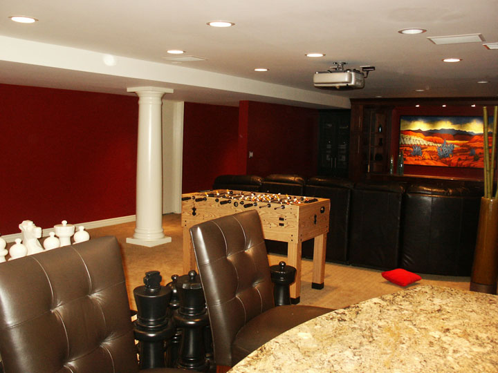 AVENEUES BASEMENT REMODEL